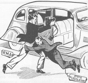 When car radio thieves were heroes.