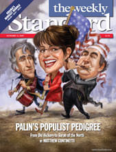 Sarah Palin, and The Weekly Standard's Decadal Audition for ...