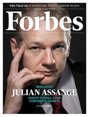 Wikileaks - Julian Assange - counter-intelligence - cyber security Assange_Forbes