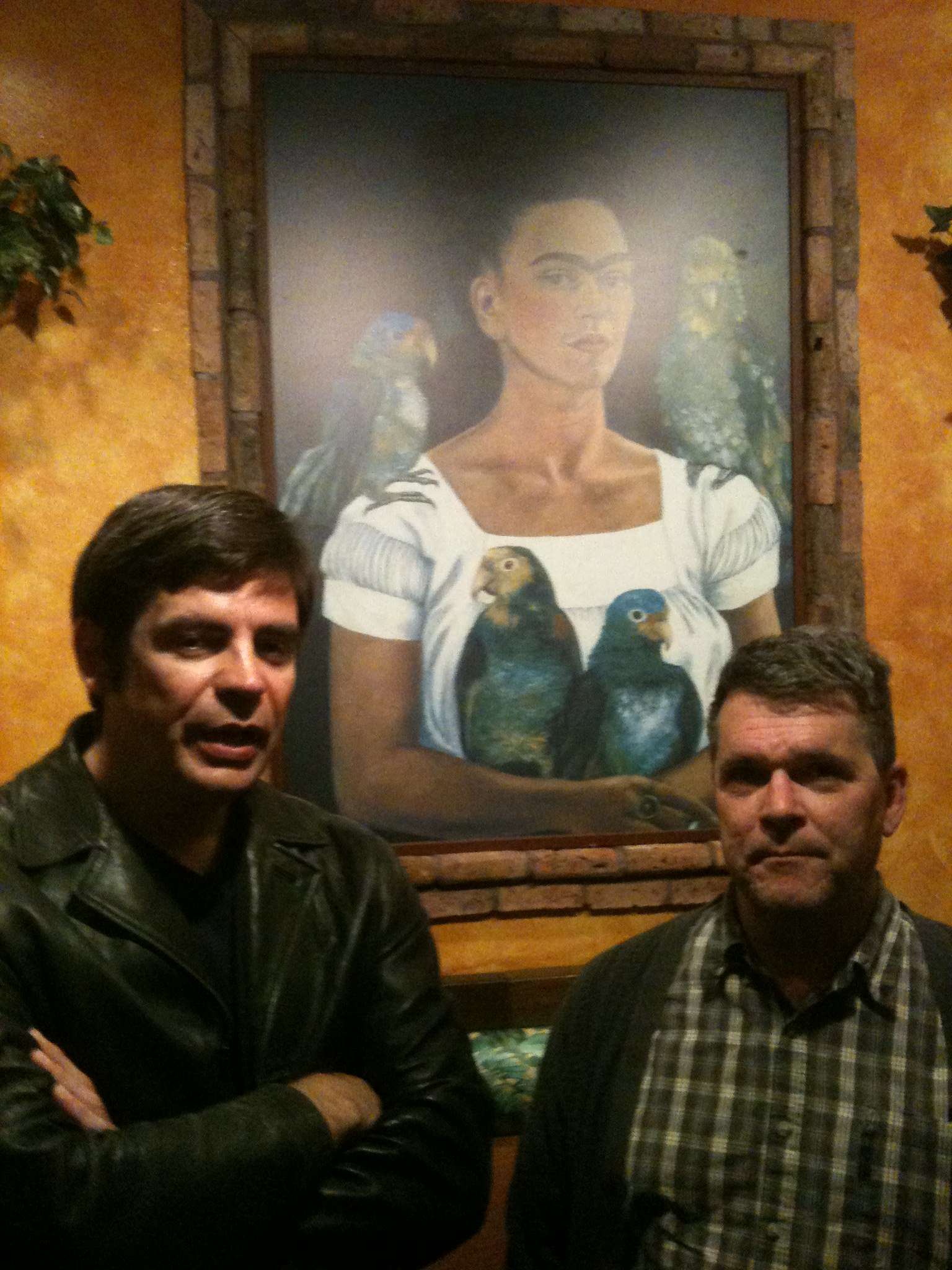 Gillespie, Kahlo, and Peter Bagge, in Seattle