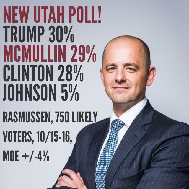 They're pumped in Provo. ||| Evan McMullin campaign