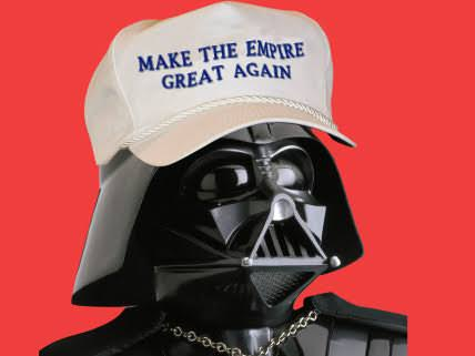 Image result for trump as darth vader