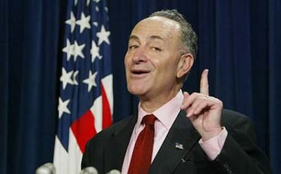 You wouldn't like Chuck Schumer when he's angry.