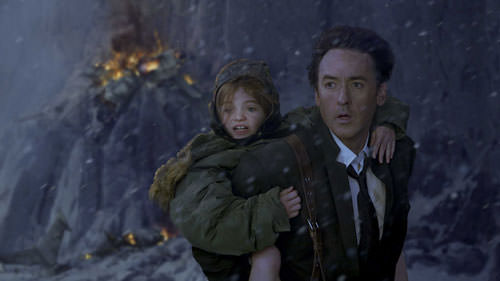"John Cusack stares in awe, wondering, ""Is this movie really as bad as it looks?"""