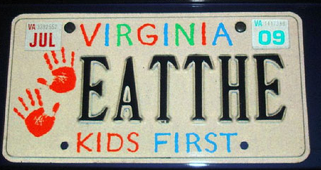 virginia s dmv does not approve of hilarious cannibalism hit run. Black Bedroom Furniture Sets. Home Design Ideas