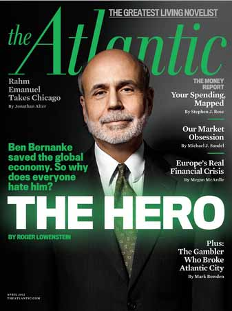 If Bernanke's the hero, God help the greatest living novelist.