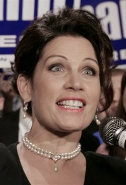 Michele Bachmann gets another message from the Lord.
