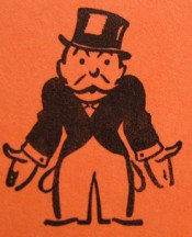 "Just a reminder: He's called ""Rich Uncle Pennybags,"" not ""The Monopoly Guy."""
