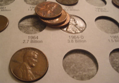Pre-1982 pennies are worth more than 1.54 cents each.