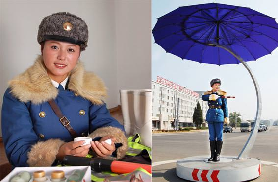 Article by a Pyongyang Traffic Girl:  Traffic Controller's Pride Pyongyangtrafficgirls