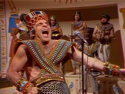 The pyramids cost the lives of countless captive Israelites, but just think of all the laffs we had.