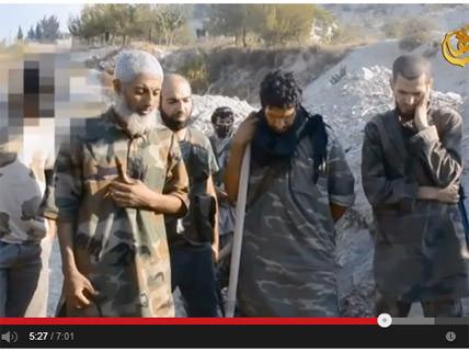 Ibrahim bin Shakaran eulogizing over Abu Hamza al-Maghrebi