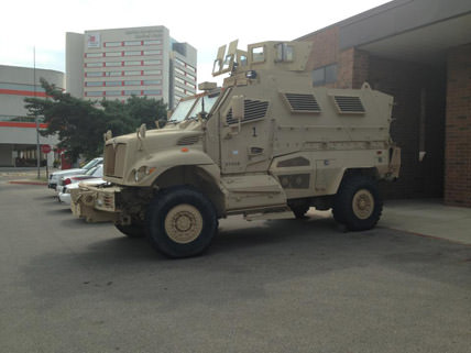 Maybe Neil Young will write a song about OSU's new MRAP.