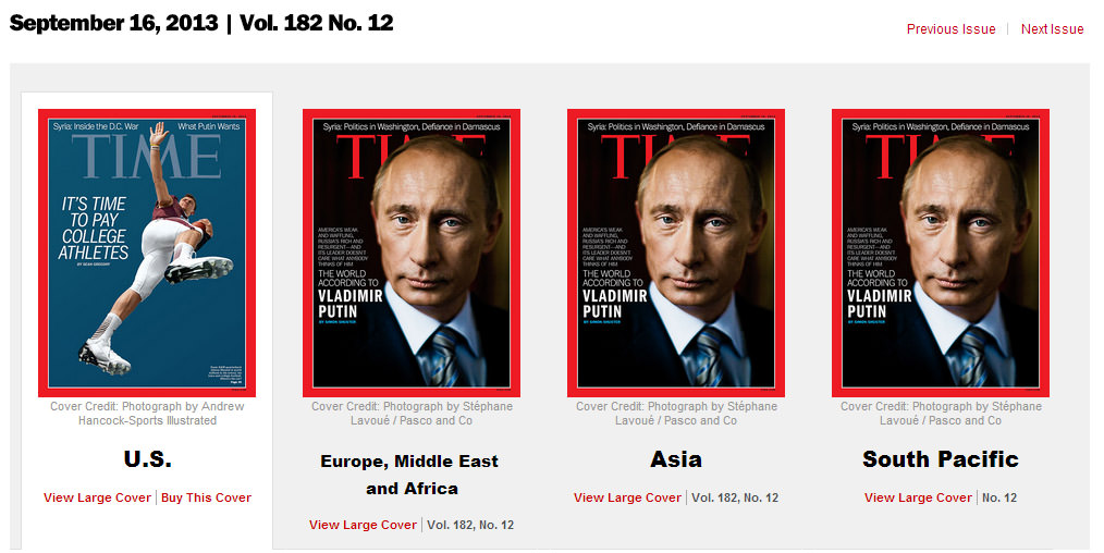 """9e1f306f153 Time Magazine's """"America's Weak and Waffling"""" Cover Not Featured in ..."""